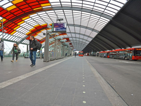 Busstation Amsterdam CS
